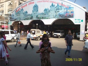 VT Station (now CST Station), Bombay